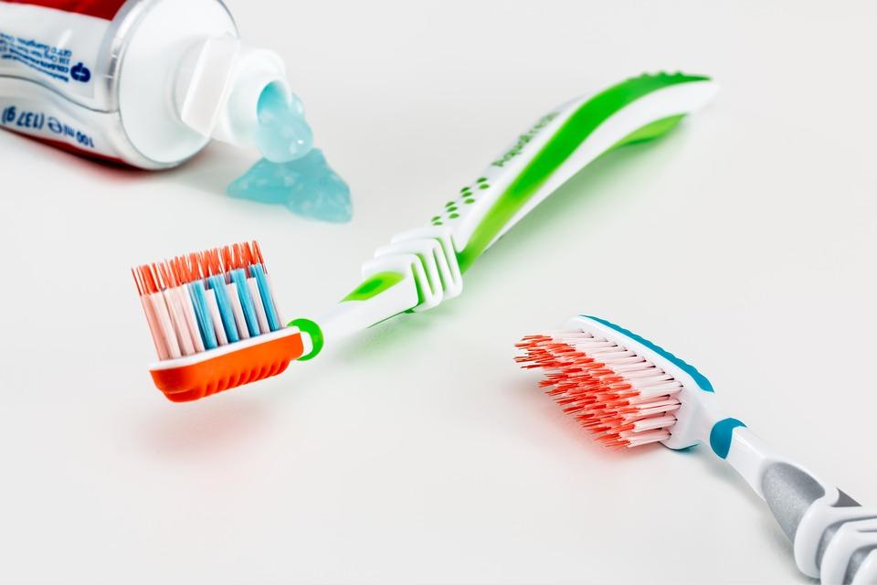 tandenborstel mond gezond